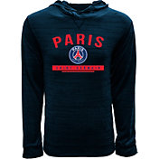 Levelwear Youth Paris Saint-Germain Anchor Navy Heathered Hoodie