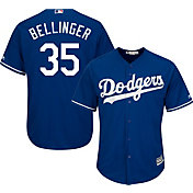 Majestic Boys' Replica Los Angeles Dodgers Cody Bellinger #35 Cool Base Alternate Royal Jersey