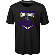 Majestic Boys' Colorado Rockies Dri-Tek Run Scored T-Shirt