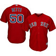 Majestic Boys' Replica Boston Red Sox Mookie Betts #50 Cool Base Alternate Red Jersey