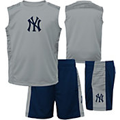 Majestic Boys' New York Yankees Home Stand Shorts & Top Set