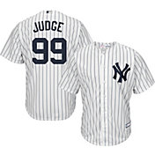 Boys' Replica New York Yankees Aaron Judge #99 Home White Jersey