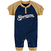 Majestic Newborn Milwaukee Brewers Onesie