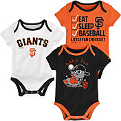 Majestic Infant San Francisco Giants 3-Piece Onesie Set