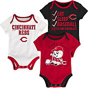 Majestic Infant Cincinnati Reds 3-Piece Onesie Set