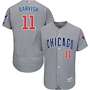 Product Image · Majestic Men s Authentic Chicago Cubs Yu Darvish  11 Flex  Base Road Grey On-Field 5d5a043964a