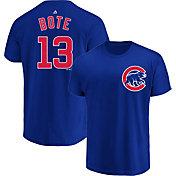 Majestic Men's Chicago Cubs David Bote #13 Royal T-Shirt