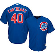 Majestic Men's Replica Chicago Cubs Willson Contreras #40 Cool Base Alternate Royal Jersey