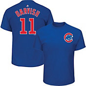 Majestic Men's Chicago Cubs Yu Darvish #11 Royal T-Shirt