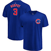Majestic Men's Chicago Cubs Daniel Murphy #3 Royal T-Shirt