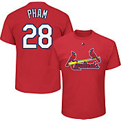 Majestic Men's St. Louis Cardinals Tommy Pham #28 Red T-Shirt