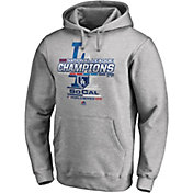 Majestic Men's 2018 NL Champions Locker Room Los Angeles Dodgers Grey Hoodie