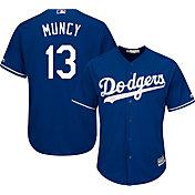 Majestic Men's Replica Los Angeles Dodgers Max Muncy #13 Cool Base Alternate Royal Jersey