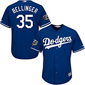 Majestic Men's 2018 World Series Replica Los Angeles Dodgers Cody Bellinger Cool Base Alternate Royal Jersey