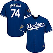 Majestic Men's 2018 World Series Replica Los Angeles Dodgers Kenley Jansen Cool Base Alternate Royal Jersey