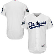 Majestic Men's 2018 World Series Authentic Los Angeles Dodgers Flex Base Home White On-Field Jersey