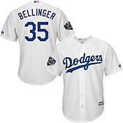 Majestic Men's 2018 World Series Replica Los Angeles Dodgers Cody Bellinger Cool Base Home White Jersey