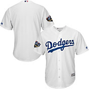 Majestic Men's 2018 World Series Replica Los Angeles Dodgers Cool Base Home White Jersey