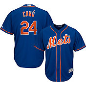 Majestic Men's Replica New York Mets Robinson Cano #24 Cool Base Alternate Royal Jersey
