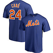 Majestic Men's New York Mets Robinson Cano #24 Royal T-Shirt