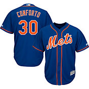 Majestic Men's Replica New York Mets Michael Conforto #30 Cool Base Alternate Royal Jersey