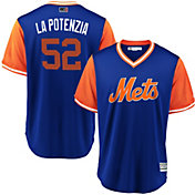 "Majestic Men's New York Mets Yoenis Cespedes ""La Potencia"" MLB Players Weekend Jersey"