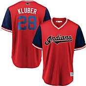 "Majestic Men's Cleveland Indians Corey Kluber ""Klub"" MLB Players Weekend Jersey"