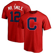 "Majestic Men's Cleveland Indians Francisco Lindor ""Mr. Smile"" MLB Players Weekend T-Shirt"