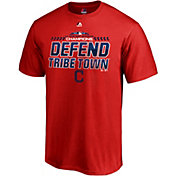 Majestic Men's Cleveland Indians 2018 AL Central Division Champions Red T-Shirt