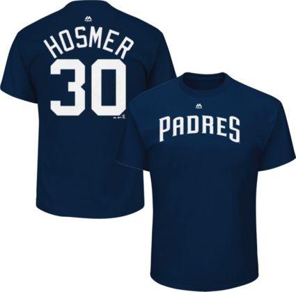 sale retailer 85ac7 ce2d1 Majestic Men s San Diego Padres Eric Hosmer  30 Navy T-Shirt. noImageFound.  Previous