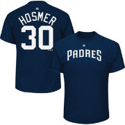 Majestic Men's San Diego Padres Eric Hosmer #30 Navy T-Shirt