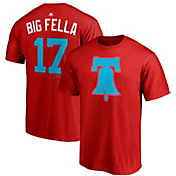 "Majestic Men's Philadelphia Phillies Rhys Hoskins ""Big Fella"" MLB Players Weekend T-Shirt"