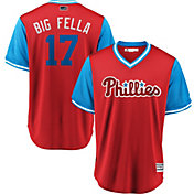 "Majestic Men's Philadelphia Phillies Rhys Hoskins ""Big Fella"" MLB Players Weekend Jersey"