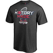 Majestic Men's 2018 World Series Champions Locker Room Boston Red Sox Grey T-Shirt