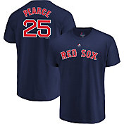 Majestic Men's Boston Red Sox Steve Pearce #25 Navy T-Shirt