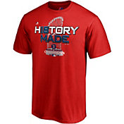 Majestic Men's 2018 World Series Champions Locker Room Boston Red Sox Red T-Shirt