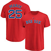 Majestic Men's Boston Red Sox Steve Pearce #25 Red T-Shirt