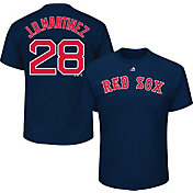 Majestic Men's Boston Red Sox J.D. Martinez #28 Navy T-Shirt