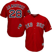 Majestic Men's 2018 World Series Champions Replica Boston Red Sox J.D. Martinez Cool Base Alternate Red Jersey
