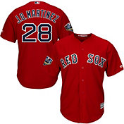 Majestic Men's 2018 World Series Replica Boston Red Sox J.D. Martinez Cool Base Alternate Red Jersey