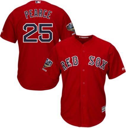 7b51d1666a4 Majestic Men's 2018 World Series Champions Replica Boston Red Sox Steve  Pearce Cool Base Alternate Red Jersey. noImageFound