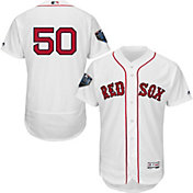 67c699a3135 Product Image · Majestic Men s 2018 World Series Authentic Boston Red Sox  Mookie Betts Flex Base Home White On
