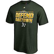 Majestic Men's Oakland Athletics 2018 AL Wildcard Green T-Shirt