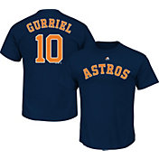 Majestic Men's Houston Astros Yuli Gurriel #10 Navy T-Shirt