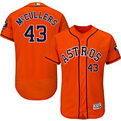 Majestic Men's Authentic Houston Astros Lance McCullers #43 Flex Base Alternate Orange On-Field Jersey