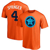 "Majestic Men's Houston Astros George Springer ""Springer"" MLB Players Weekend T-Shirt"