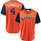 "Majestic Men's Houston Astros George Springer ""Springer"" MLB Players Weekend Jersey"