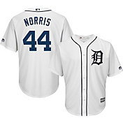 Majestic Men's Replica Detroit Tigers Daniel Norris #44 Cool Base Home White Jersey