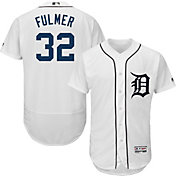 Majestic Men's Authentic Detroit Tigers Michael Fulmer #32 Flex Base Home White On-Field Jersey