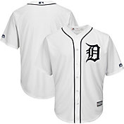 Majestic Men's Replica Detroit Tigers Cool Base Home White Jersey